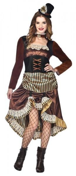 Disfraz Steampunk Lady Izzy para mujer