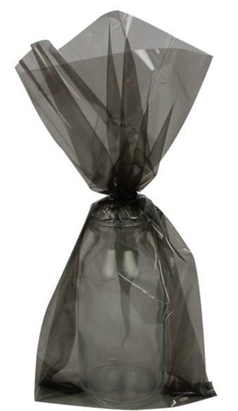 25 Schwarze Geschenktüten 24cm
