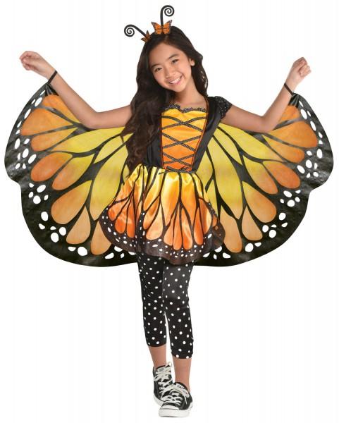 Zauberhaftes Schmetterling Kostüm für Mädchen