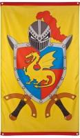 Ritter Wappen Fahne 150 x 90cm