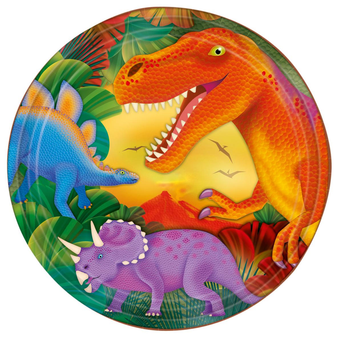 динозавр картинка на торт круглая зданием стоит