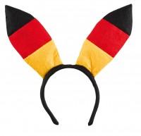 Deutschland Haarreif mit Hasenohren