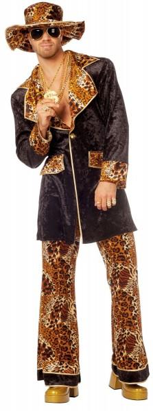 Disfraz de proxeneta Leo para hombre