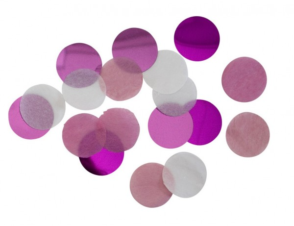 Shiny Pink Confetti 15g