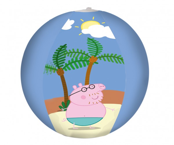 Peppa Wutz Strandtag Wasserball 29cm