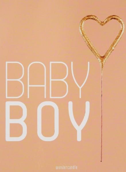 Twinkle Baby Boy Wondercard
