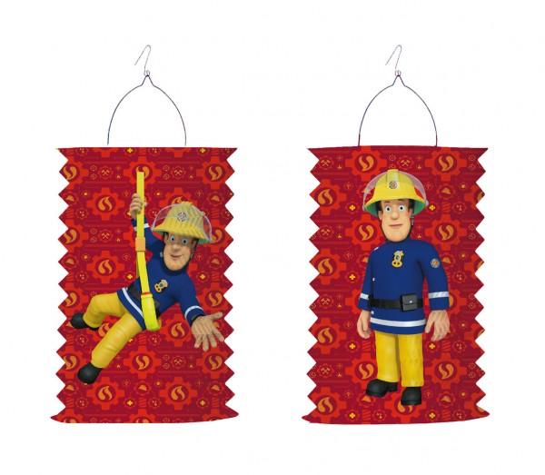 Feuerwehrmann Sam SOS Laterne 28cm