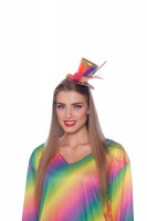 Mini-Zylinder Rainbow bunt