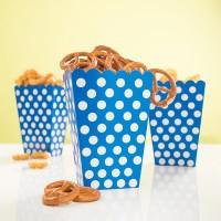 Snack Box Lucy Blau Gepunktet 8 Stück