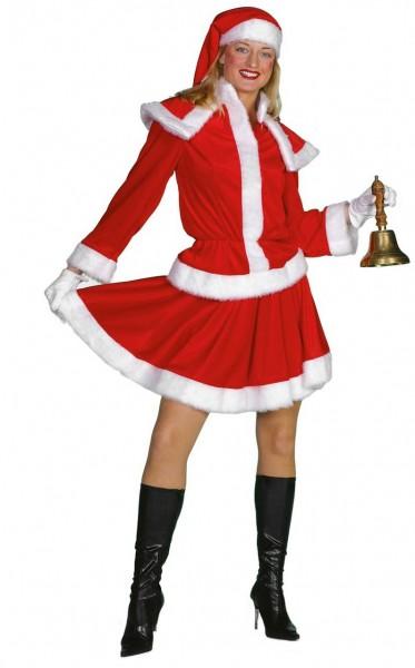 Elegant Christmas ladies costume