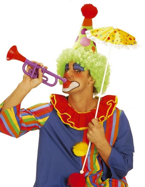 Sound effect trumpet for clowns