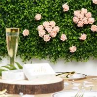 8 Rosen-Bouquets pfirsich