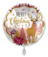 Weihnachts-Folienballon Reindeerland 71cm