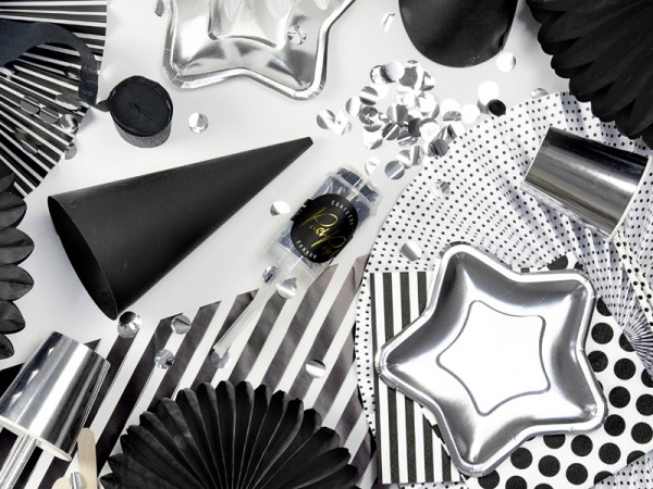 Confetti cannone partylover argento