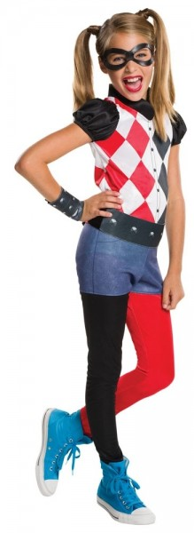 Harley Quinn Superheldin Kostüm Für Mädchen