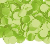 Papier-Konfetti in Limonengrün 100g