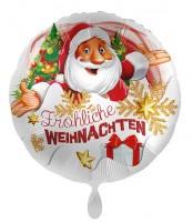 Santas Weihnachts-Folienballon 71cm