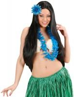 Blaue Florence Blumen Haarspange