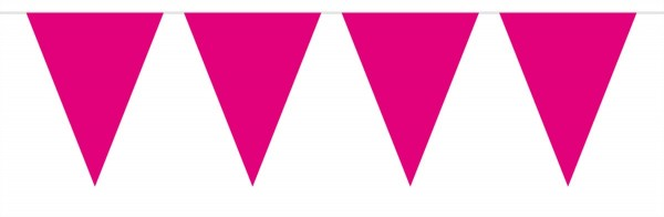 Pennant Chain Simple Pink 10m