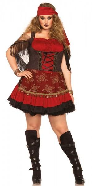 Verführerische Piratenbraut Plus Size Kostüm Für Damen