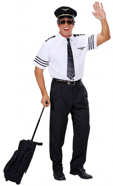 Pilot Pascal Herrenkostüm