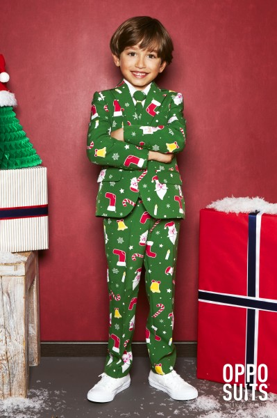 OppoSuits Santaboss party suit for children