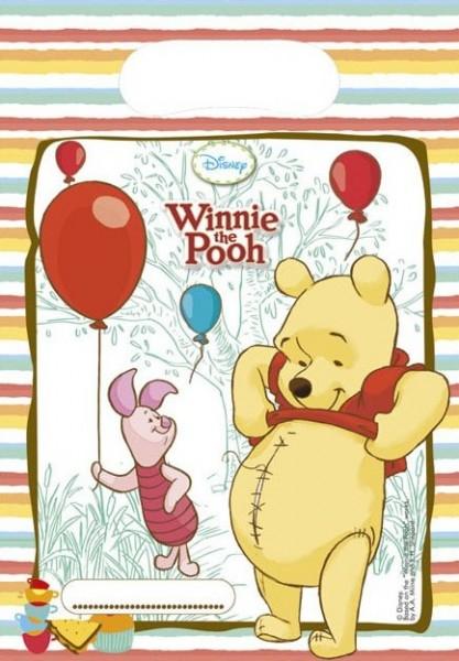6 Winnie Puuh Geschenktüten Honey