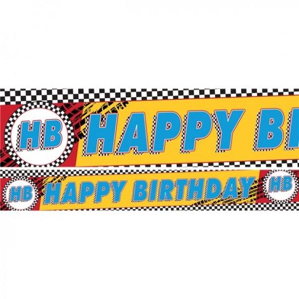 3 Disney Cars Racing Banner 1m