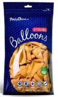 50 Partystar Luftballons gelb 27cm