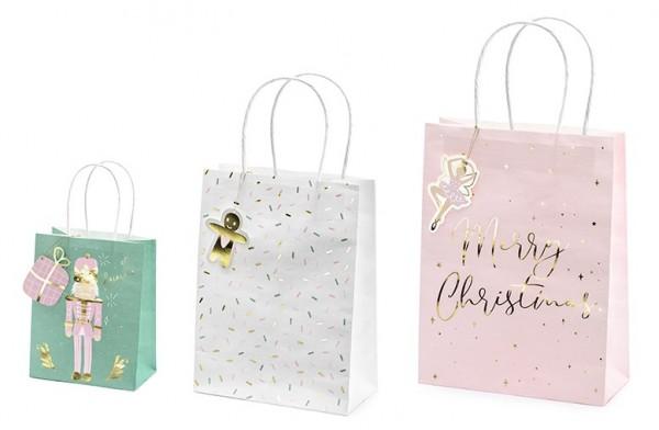 3 sugar fairy gift bags