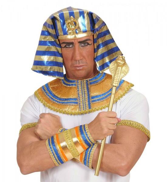 Pharao Zepter Kobra Gold 48cm