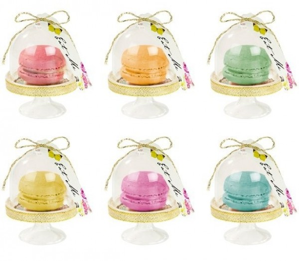 6 Alice Tea Party cake bells