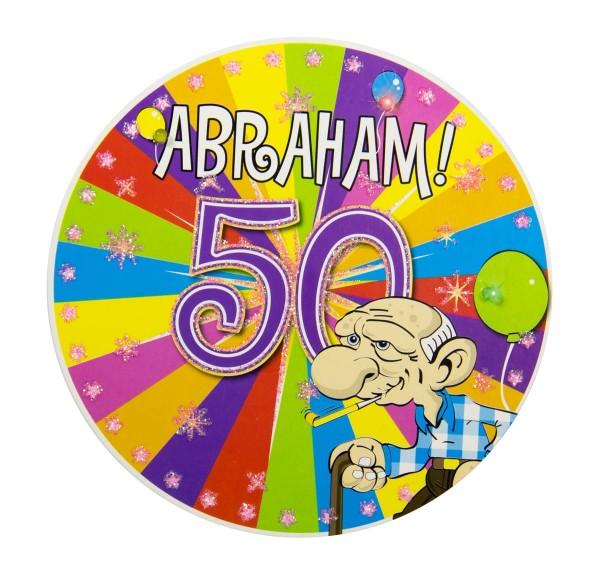 Botón LED Abraham Party