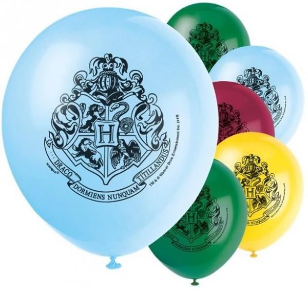 8 Harry Potter Zweinstein ballonnen 30 cm