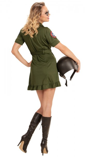 Militär Fliegerlady Damenkostüm
