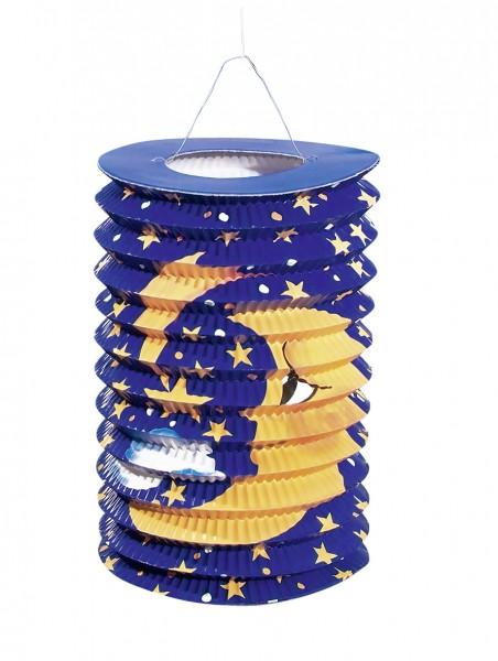 Lanterne de train de lune ciel de conte de fées 15 x 25 cm