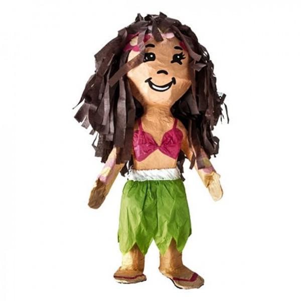 Hula Girl Pinata 55cm