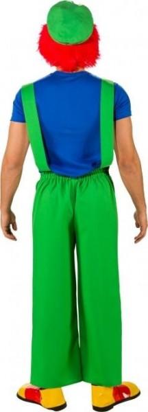 Grüne Herren Latzhose Mike