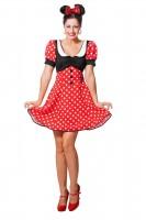 Niedliches Minnie Mouse Kostüm Mina