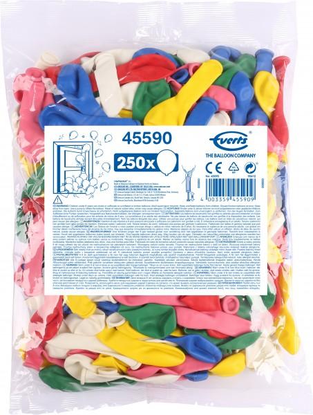 Pack de rangement XXL 250 ballons colorés