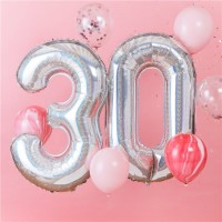 Starful 30th Birthday Folienballon 1,02m