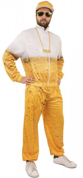 Beer jogging suit for adults