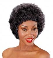 Afro Perücke für Damen und Herren schwarz