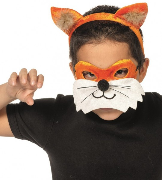 Vosmasker en oren voor kinderen