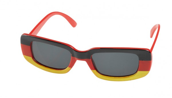 XXL Deutschland Brille mit getönten Gläsern