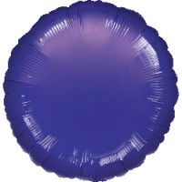 Runder Folienballon lavendel 45cm