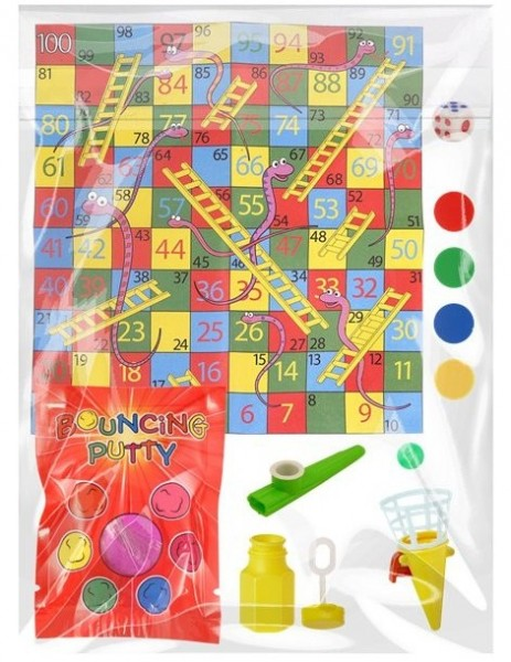 Partyspiel Mitgebsel Set 5-teilig