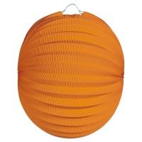 Lampion Plain orange 22cm
