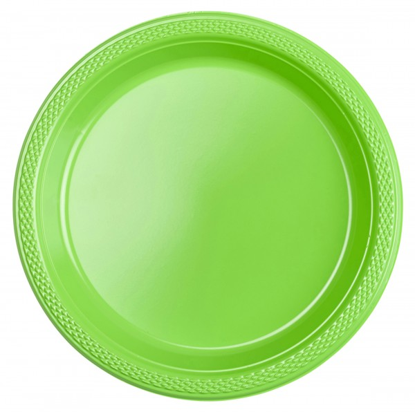 20 platos Gwen Green 17,7cm