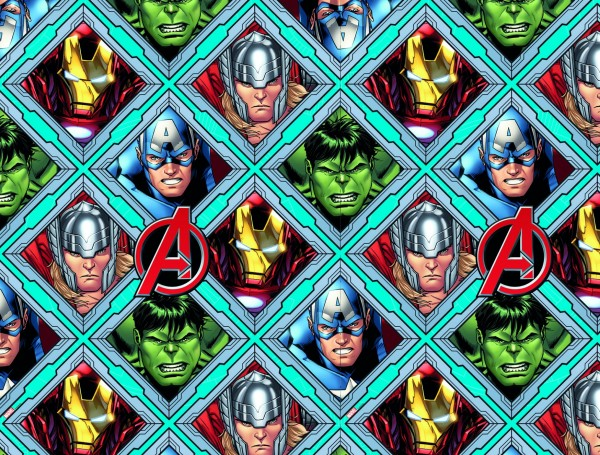Avengers Heroes Tischdecke 1,8 x 1,2m